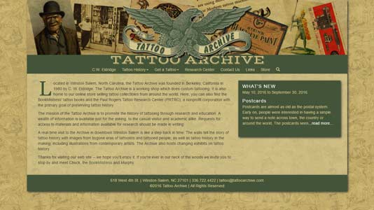 TATTOO ARCHIVE